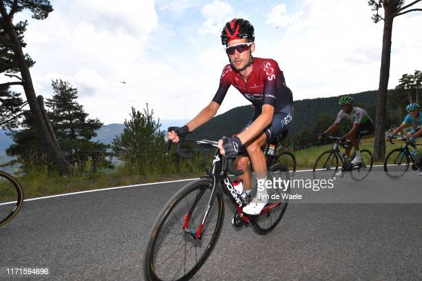 Wout Poels of Netherlands and Team Ineos / during the 74th Tour of Spain 2019, Stage 9 a 94,4km stage from Andorra la Vella to Alto Els Cortals...