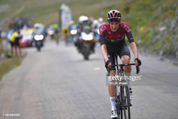 Wout Poels of The Netherlands and Team INEOS / during the 106th Tour de France 2019 Stage 19 a 1265km stage from SaintJeandeMaurienne to Tignes 2113m...