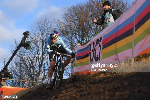 Wout Van Aert of Belgium and Team Belgium / during the 70th Cyclo-cross World Championships Bogense 2019, Men Elite / Cross Denmark / @Bogense2019 /...
