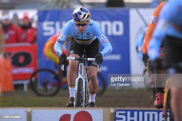 Wout Van Aert of Belgium and Team Belgium / during the 70th Cyclo-cross World Championships Bogense 2019, Men Elite / Cross Denmark / @Bogense2019 /...