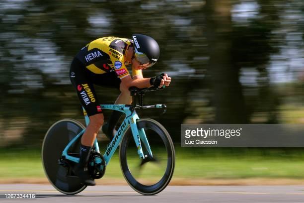 Wout Van Aert of Belgium and Team Jumbo - Visma / during the 121st Belgian Road Championship 2020, Men's Elite Individual Time Trial a 42,3km...