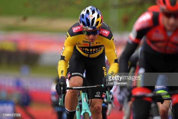 Wout Van Aert of Belgium and Team Jumbo - Visma / during the 24th Tabor World Cup 2020 - Men Elite / #CXWorldCup / @UCI_CX / @uci_cycling / on...
