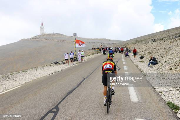 Wout Van Aert of Belgium and Team Jumbo-Visma during the 108th Tour de France 2021, Stage 11 a 198,9km km stage from Sorgues to Malaucène / Mont...
