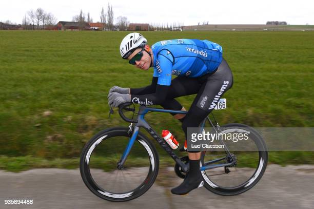 Wout Van Aert of Belgium and Team Verandas WillemsCrelan / during the 42nd 3 Days De Panne 2018 a 2024km race from Brugge to De Panne on March 21...