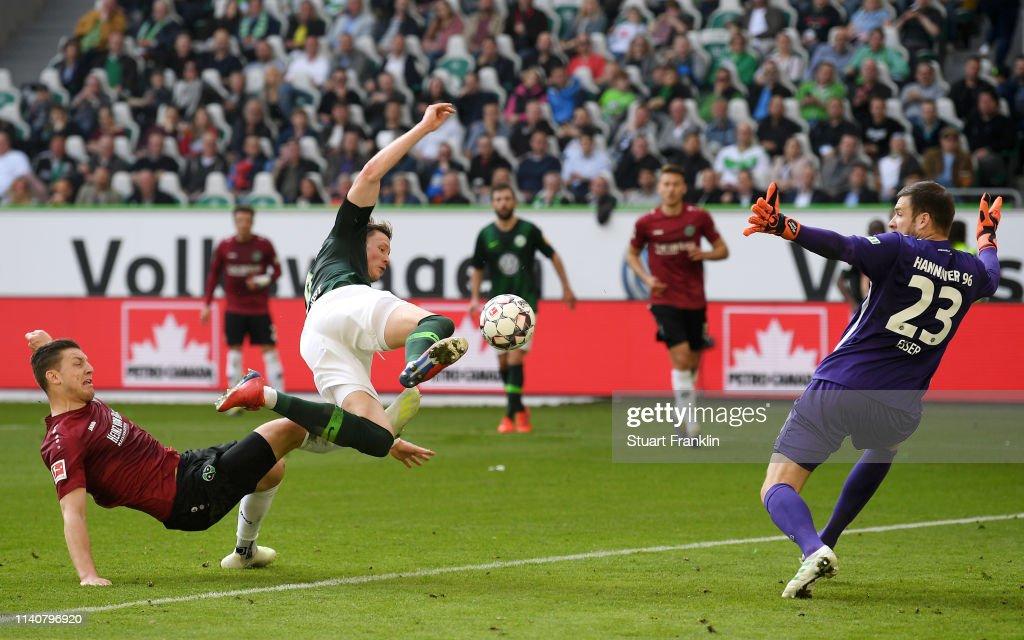 DEU: VfL Wolfsburg v Hannover 96 - Bundesliga