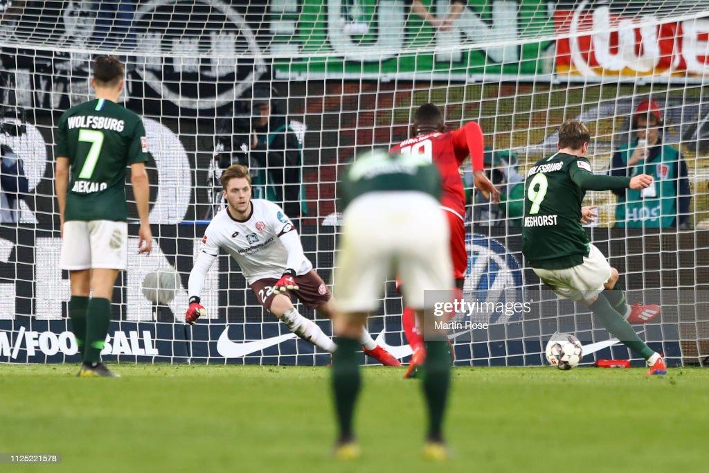 DEU: VfL Wolfsburg v 1. FSV Mainz 05 - Bundesliga