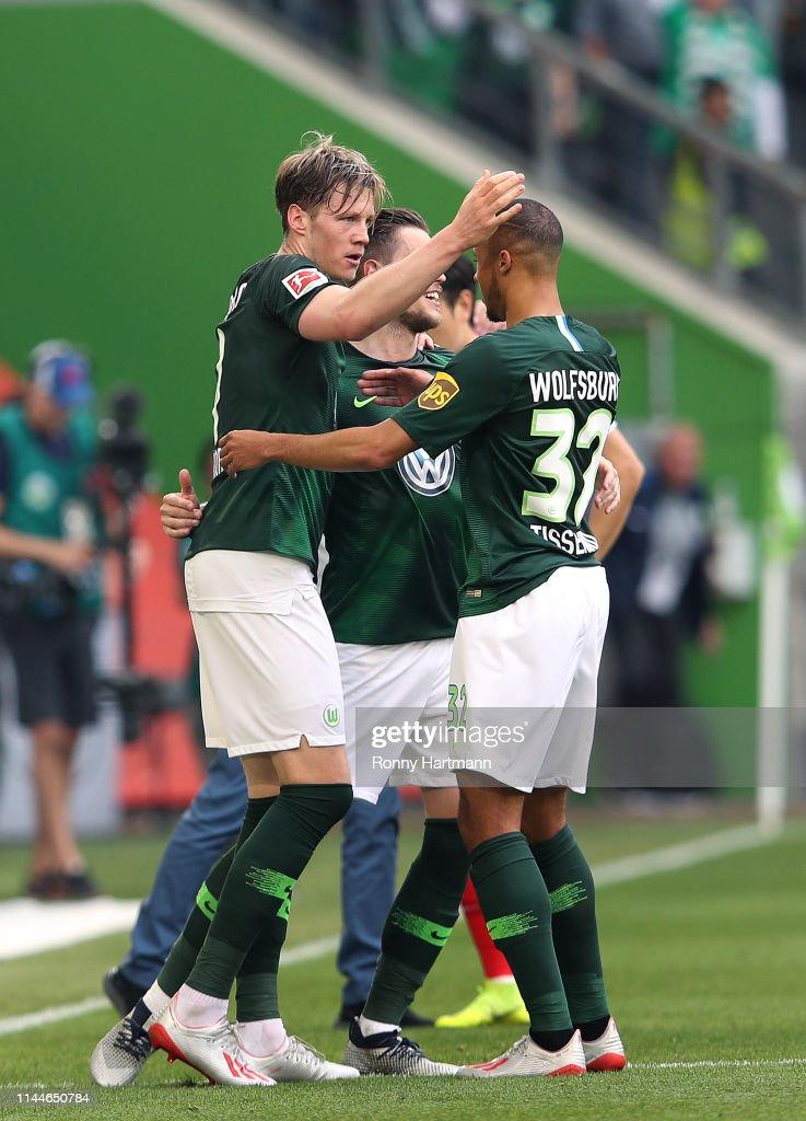 DEU: VfL Wolfsburg v FC Augsburg - Bundesliga