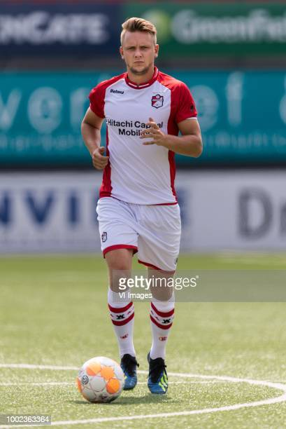 Wouter Marinus during the team presentation of FC Emmen on July 19 2018 at the De Oude Meerdijk stadium in Emmen The Netherlands