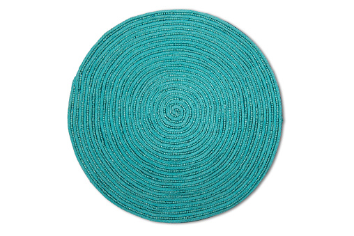 Woven Place Mat With Clipping Path 530996490
