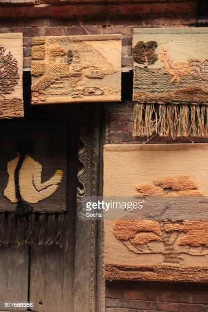 ネパールでの販売のための不織布の壁掛け