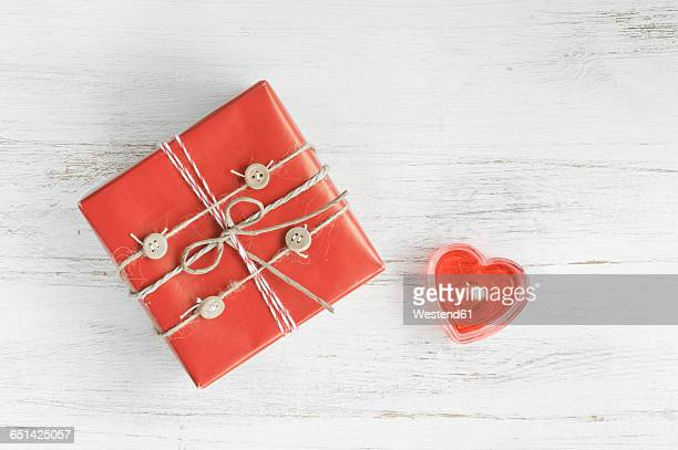 Wrapped gift box