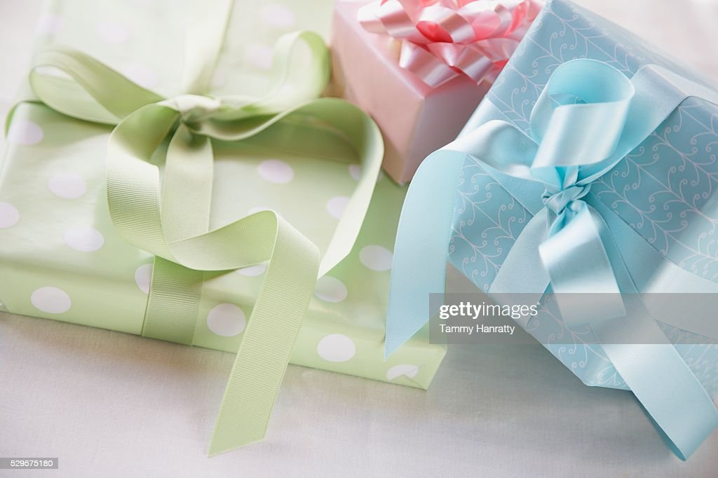 Wrapped Gifts : Stock Photo