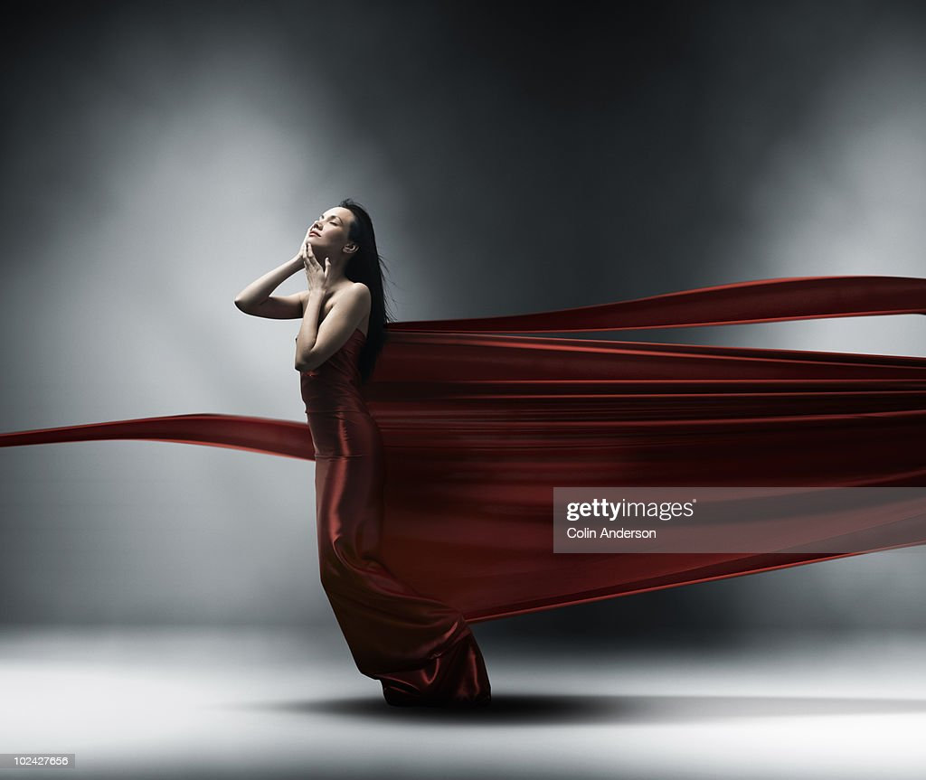 wrapped in fashion : Stock Photo