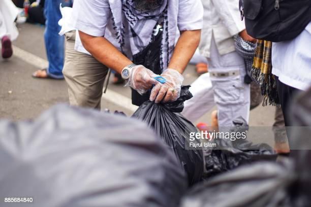 Wrapping garbage bag