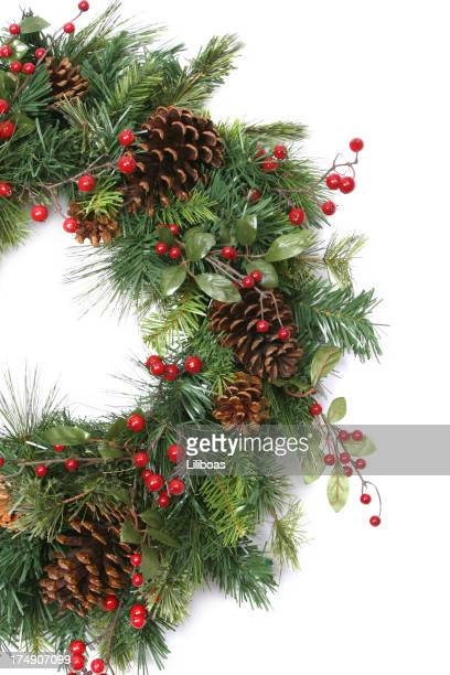 Wreath Series (isolated on white with copyspace)