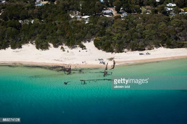 Wreck at Bulwer Moreton Island Brisbane Australia