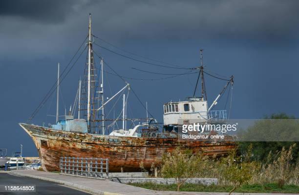 Wreck, harbour, Latsi, Cyprus, Wrack, Hafen, Zypen.