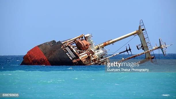 Wreck of ship
