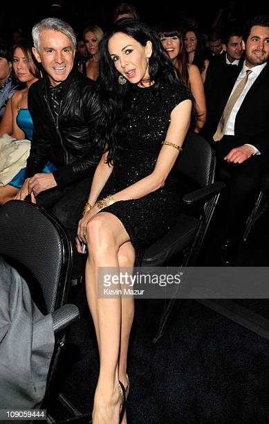 Wren Scott attends The 53rd Annual GRAMMY Awards held at Staples Center on February 13 2011 in Los Angeles California