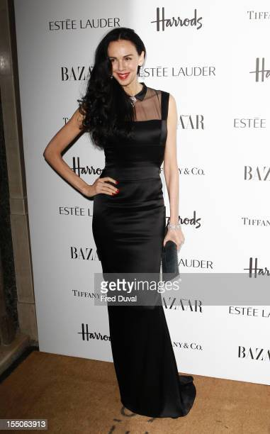 Wren Scott attends the Harper's Bazaar Woman of the Year Awards at Claridge's Hotel on October 31 2012 in London England