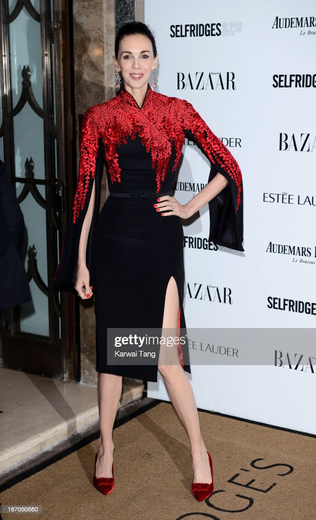 L'Wren Scott attends the Harpers Bazaar Women of the Year Awards at Claridge's Hotel on November 5, 2013 in London, England.