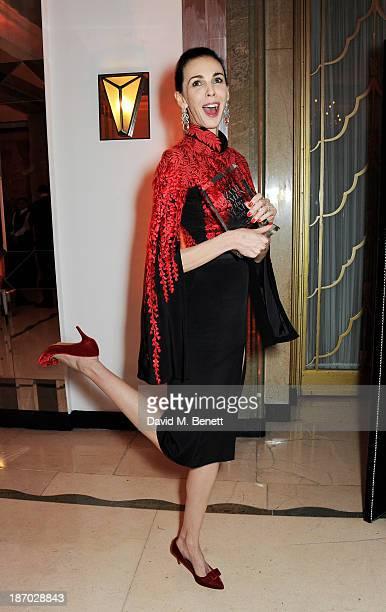 Wren Scott, winner of the Tastemaker of the Year award, attends the Harper's Bazaar Women of the Year awards at Claridge's Hotel on November 5, 2013...