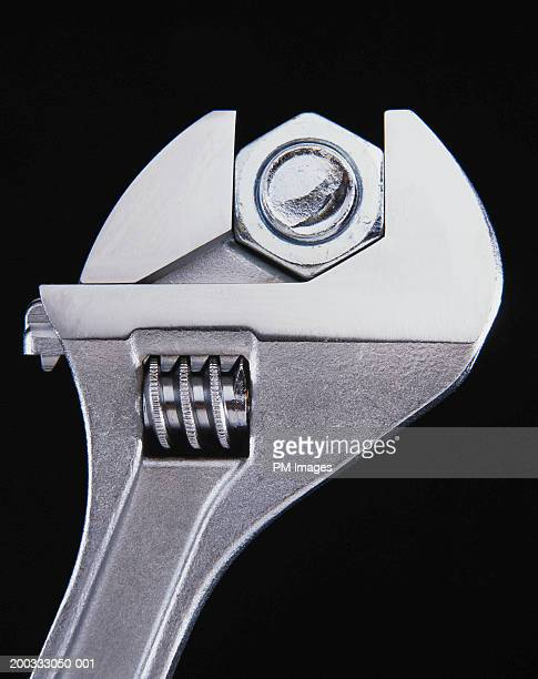 Wrench and nut