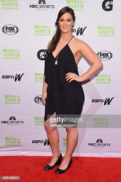 Wrestler Adeline Gray attends the 36th Annual Salute to Women In Sports at Cipriani Wall Street on October 20 2015 in New York City