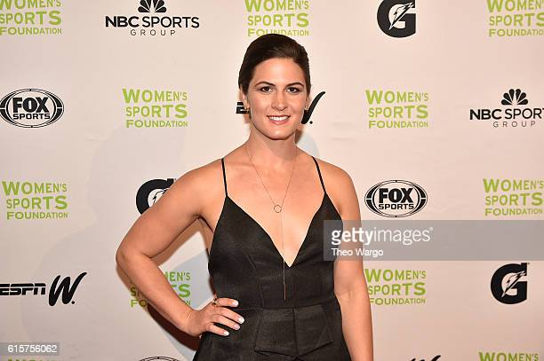 Wrestler Adeline Gray attends the 37th Annual Salute To Women In Sports Gala at Cipriani Wall Street on October 19 2016 in New York City