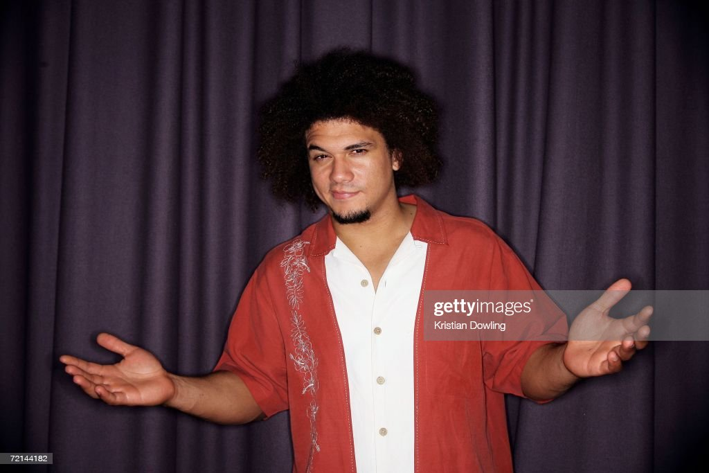 Wrestler Carlito poses backstage in the Media Room at the fourth annual Nickelodeon Australian Kids' Choice Awards 2006 (NSW) at the Sydney Entertainment Centre on October 11, 2006 in Sydney, Australia.