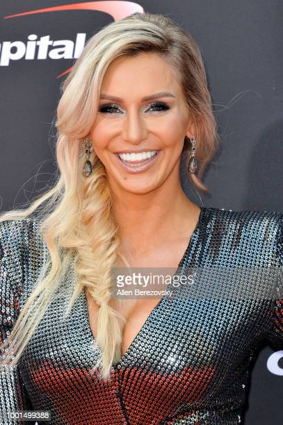 Wrestler Charlotte Flair attends The 2018 ESPYS at Microsoft Theater on July 18 2018 in Los Angeles California