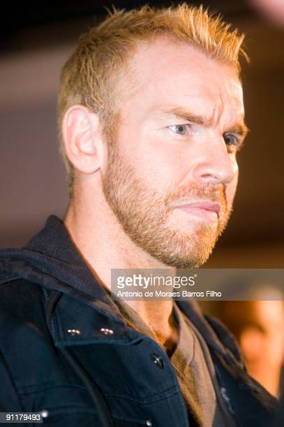 WWE wrestler Christian attends WWE SmackDown at Palais des Sports on September 26 2009 in Paris France