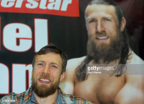 Wrestler Daniel Bryan appears on Sunday, February 28, 2016 at Autorama at Cobo Hall in Detroit, MI, United States.