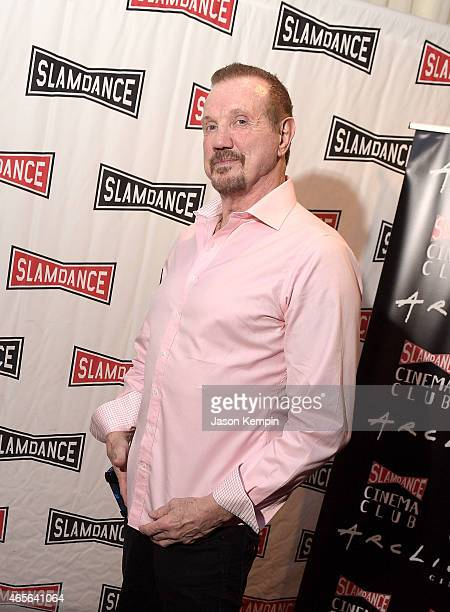Wrestler Diamond Dallas Page attends the Slamdance Cinema Club screening of 'Resurrection Of Jake The Snake' at ArcLight Cinemas on March 8 2015 in...