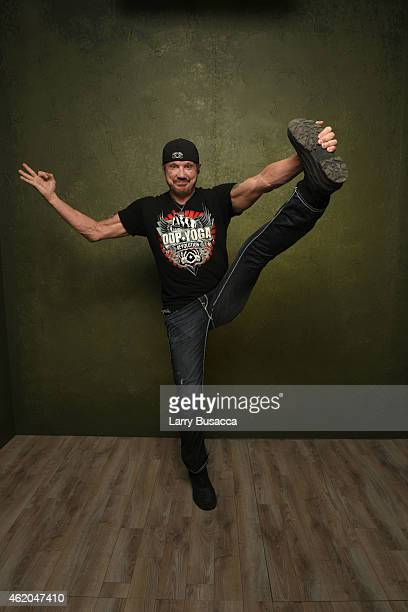 Wrestler Diamond Dallas Page from 'The Resurrection of Jake The Snake Roberts' poses for a portrait at the Village at the Lift Presented by...