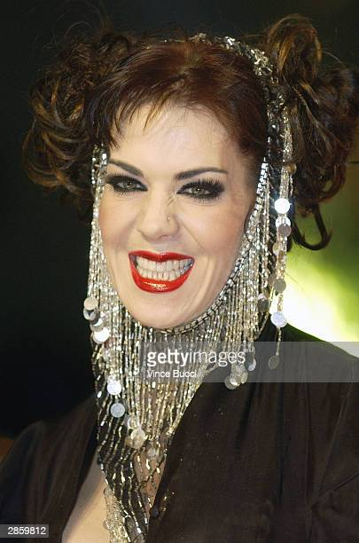 Wrestler Joanie Laurer attends the 30th Annual People's Choice Awards at the Pasadena Civic Auditorium January 11 2004 in Pasadena California