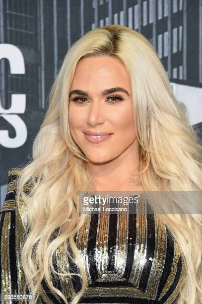 Wrestler Lana attends the 2017 CMT Music Awards at the Music City Center on June 7 2017 in Nashville Tennessee