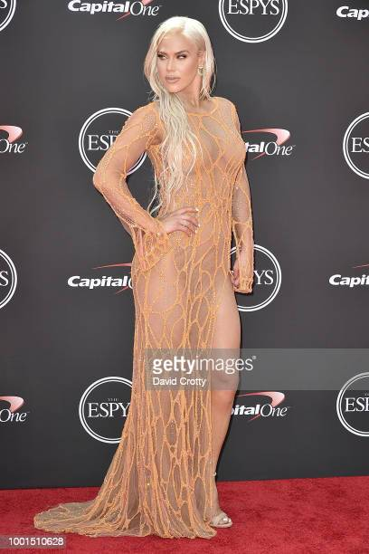 Wrestler Lana attends The 2018 ESPYS at Microsoft Theater on July 18 2018 in Los Angeles California