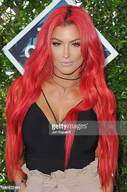 Wrestler Natalie Eva Marie arrives at the Teen Choice Awards 2016 at The Forum on July 31 2016 in Inglewood California