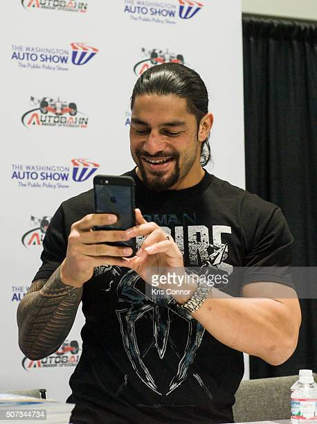 Roman Reigns Stock Photos And Pictures Getty Images