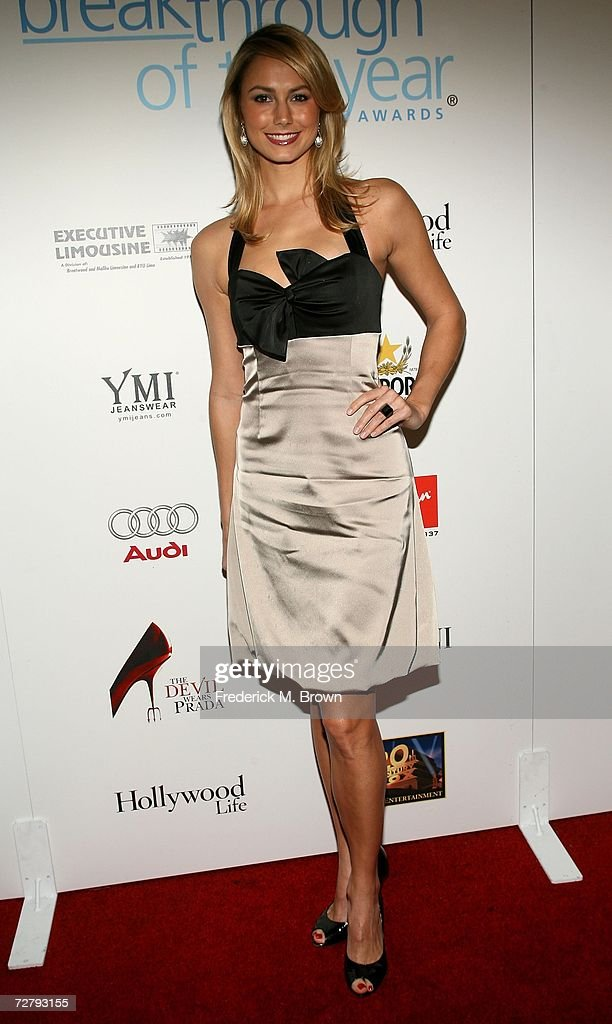 Wrestler Stacy Keibler arrives at the Hollywood Life magazine's 6th Annual Breakthrough Awards held at Henry Fonda Music Box Theatre on December 10, 2006 in Hollywood, California.