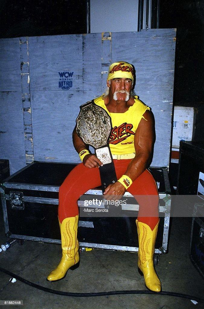 Hulk Hogan Portrait : News Photo