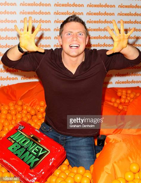 Wrestler The Miz poses in the awards room during the Australian Nickelodeon Kids' Choice Awards 2010 at the Sydney Entertainment Centre on October 8,...