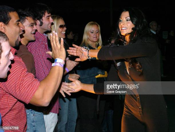 WWE Wrestler Victoria during First Annual Spike TV Video Game Awards Arrivals at MGM Grand Arena in Las Vegas Nevada United States