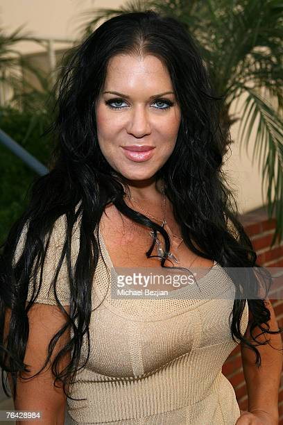 Wrestler/Actress China Doll arrives at Anna Nicole Movie Premiere at Fox on August 302007