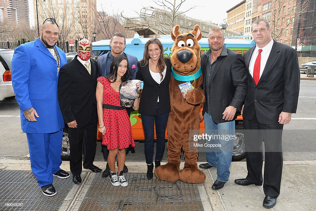 """Scooby Doo! WrestleMania Mystery"" New York Premiere : News Photo"
