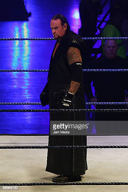 Wrestling fighter Undertaker during the WWE Smackdown Wrestling at Arenal Monterrey on May 9 2010 in Monterrey Mexico