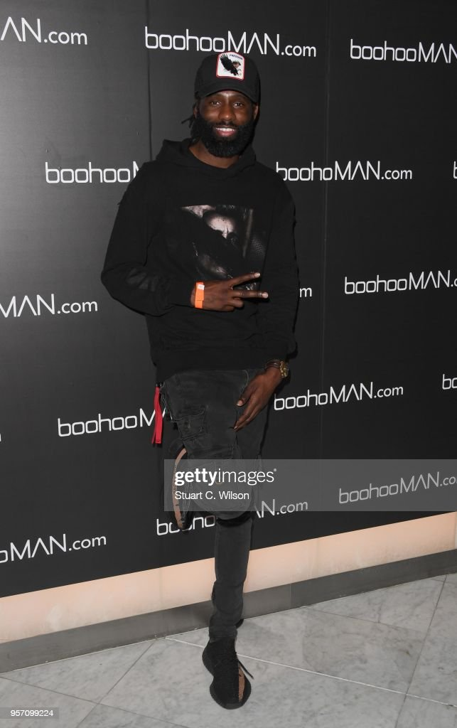 Wretch 32 attends the boohooMAN by Dele Alli VIP launch at ME London on May 10, 2018 in London, England.