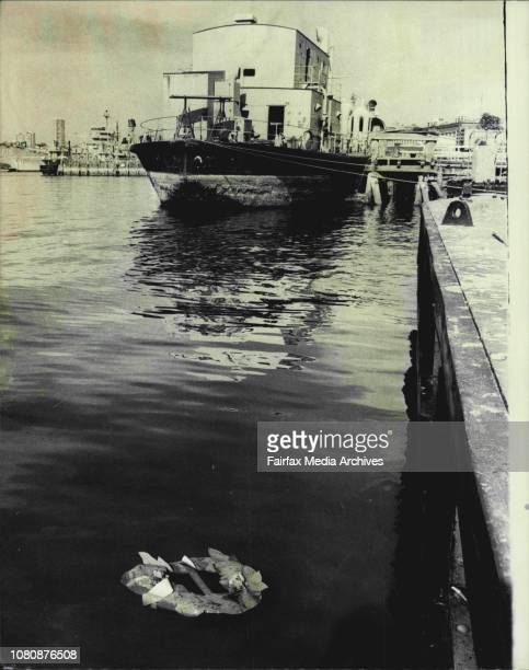 Wreths have been thrown in Sydney Harbour from HMAS Kuttabul commemorate anniversary of Japanese submarines attack in Harbour in 1942Leading Writer...