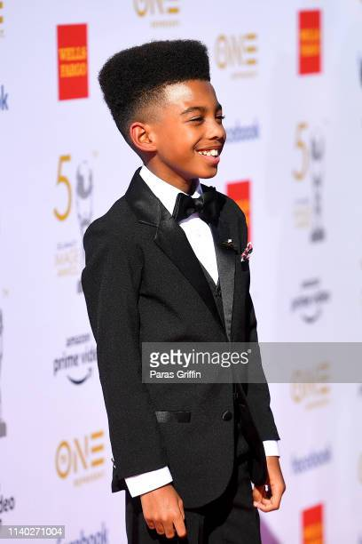 Wright attends the 50th NAACP Image Awards at Dolby Theatre on March 30 2019 in Hollywood California